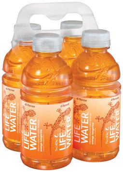 SoBe® LifeWater® Orange Tangerine Water Beverage 4 Pack 12 fl. oz. Plastic Bottles