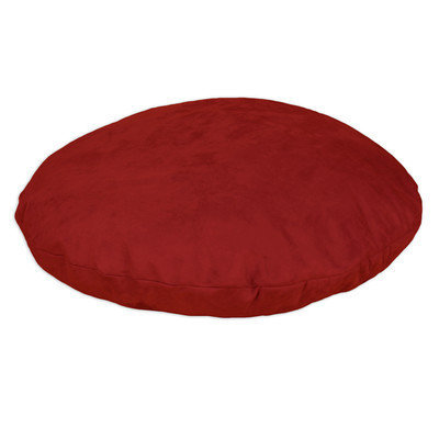 Brite Ideas Living Passion Suede Round Pet Bed with Covered Zipper Size: Medium (48