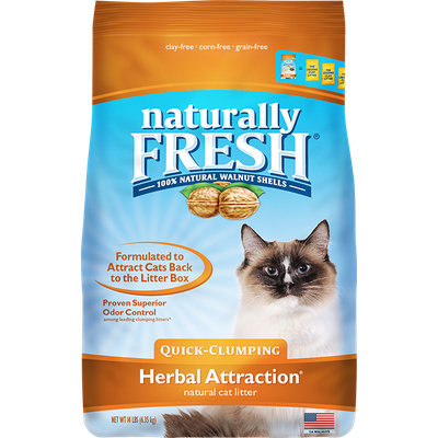 Naturally Fresh Herbal Attraction Quick Clumping Litter