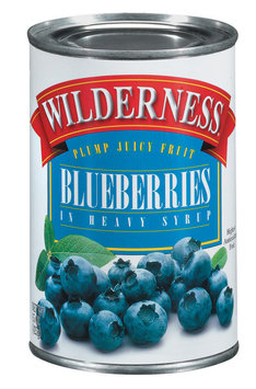 Wilderness In Heavy Syrup Blueberries 15 Oz Can