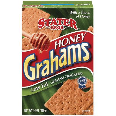 Stater Bros. Honey Low Fat Graham Crackers 14 Oz Box