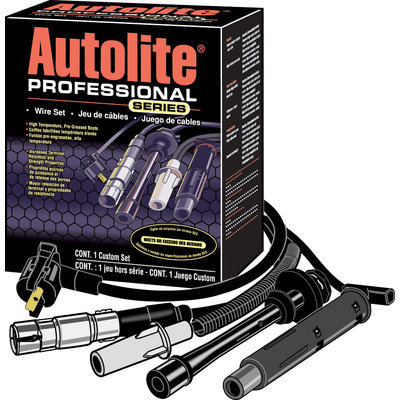 Autolite Professional Series W/Wires Displayed Wire Set 1 Ct Box