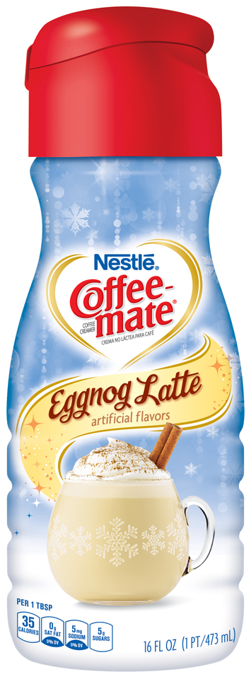 Coffee-mate® Eggnog Latte Liquid Coffee Creamer