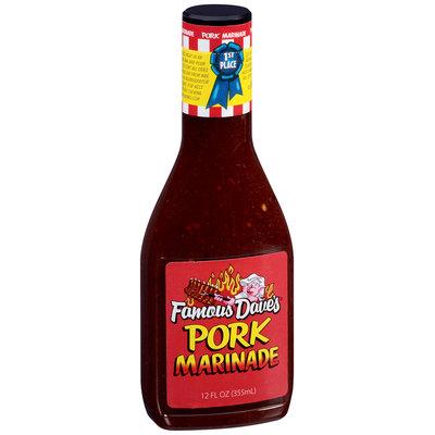 Famous Dave's® Pork Marinade 12 fl. oz. Bottle