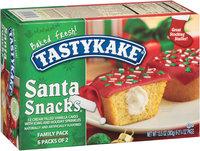 Tastykake® Cream Filled Vanilla Santa Snacks® Cakes 6-2.25 oz. Packs
