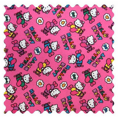 Stwd Hello Kitty Airplanes Fabric by the Yard