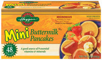 Haggen Mini Buttermilk 48 Ct Pancakes 15 Oz Box