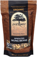 TruRoots® Organic Sprouted Mung Beans 10 oz. Stand-Up Bag