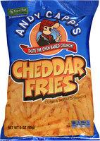Andy Capp's® Cheddar Fries Corn & Potato Snacks 3 oz. Bag