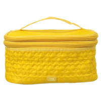 Lug Two - Step Cosmetic Case - Marigold Yellow - Travel New Color Bag TS-MAR