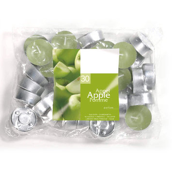 Light In The Dark Apple Scented Tea light Candles (Set of 30)