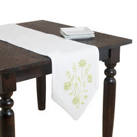 Saro Polyester 74-inch Ribbon Embroidered Table Runner