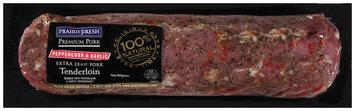 PrairieFresh® Extra Lean Pork Tenderloin Rubbed with Peppercorn & Garlic 2 ctt