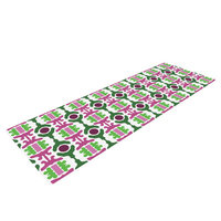 Kess Inhouse Island Dreaming Abstract by Empire Ruhl Yoga Mat