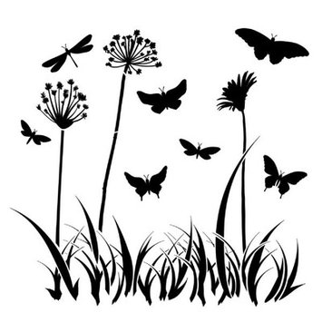 The Crafters Workshop The Crafter's Workshop Butterfly Meadow Template
