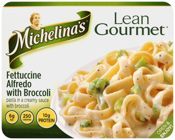 Michelina's® Lean Gourmet® Fettuccine Alfredo with Broccoli 9 oz. Tray