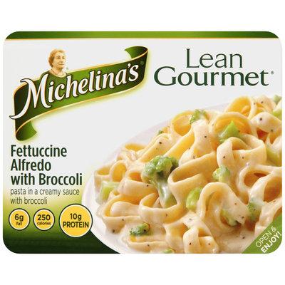 Michelina's® Lean Gourmet® Fettuccine Alfredo with Broccoli 9 oz. Tray