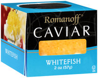 Romanoff® Whitefish Caviar 2 oz. Jar