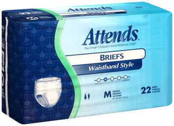 BRW102088 Attends® Briefs Waistband Style Medium HHC, 22 count