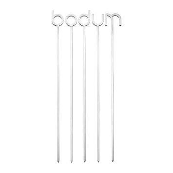 Bodum 5 Piece Straight Skewer Set