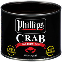 Phillips Wild Caught Pasteurized Crab Meat 16 Oz Can