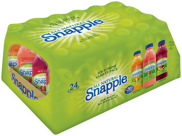 Snapple® Mango Madness/Kiwi Strawberry/Fruit Punch Variety Pack Juice Drink 24 ct Pack