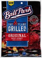 Ball Park® The Flame Grilled Original Beef Jerky 1.25 oz. Bag