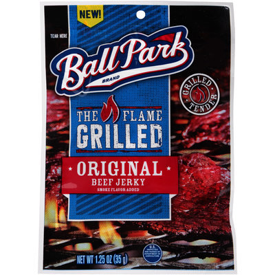 Ball Park® The Flame Grilled Original Beef Jerky 1.25 oz. Bag