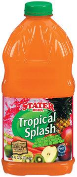 Stater Bros. Tropical Splash Fruit Juice 64 Fl Oz Plastic Bottle