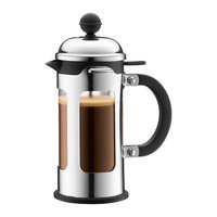 Bodum Chambord 3-Cup French Press Coffeemaker with Spill-Proof Spout