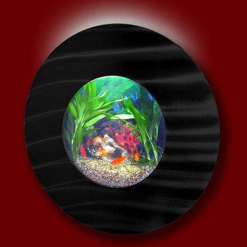 Vandue Corporation Aussie 2.75 Gallon Wall Mounted Aquarium Tank Color: Black