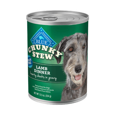 THE BLUE BUFFALO CO. BLUE™ Chunky Stew™ Lamb Dinner For Adult Dogs
