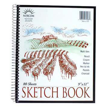 Norcom, Inc Norcom 9 x 11 Sketch Book