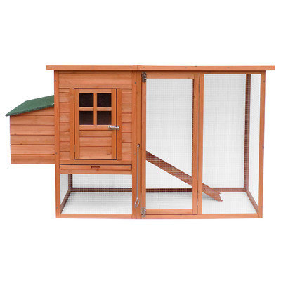 Merax Large Wooden Chicken Coop with Nesting Box