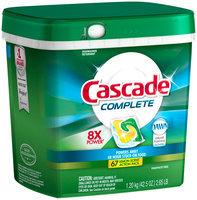 Cascade Complete ActionPacs Dishwasher Detergent Lemon Burst