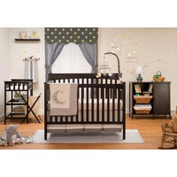 Sorelle Petite Paradise 4 Piece 2-in-1 Convertible Crib Set