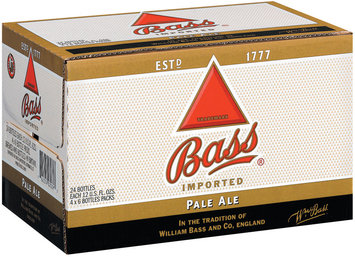 Bass 4-6 Packs 12 Oz Pale Ale 24 Pk Glass Bottles