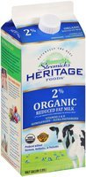 Stremicks Heritage Foods® Organic Reduced Fat Milk