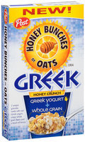 Honey Bunches of Oats Greek Honey Crunch