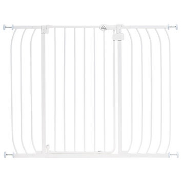 Summer Infant Baby Safety Gates 36 in. H Extra Tall Walk-Thru Multi Use White Gate 27120