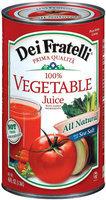 Dei Fratelli 100% Vegetable Juice 46 Fl Oz Can