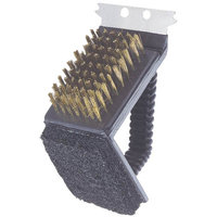 Soundbest International Mintcraft 3In1 Handgrip Grill Brush SP242C3L