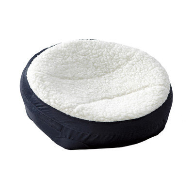 Midwest Metal Products Co. Midwest Round Dish Pet Bed Navy