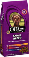 Ol' Roy® Small Breed Dog Food 4 lb. Bag