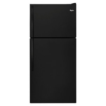Whirlpool WRT318FMDB 18.0 Black Top Freezer Refrigerator