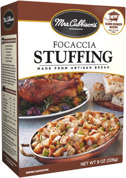 Mrs. Cubbison's® Focaccia Stuffing Made from Artisan Bread 8 oz. Box