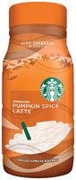 Starbucks Pumpkin Spice Latte Chilled Espresso