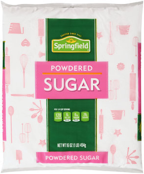 Springfield® Powdered Sugar 16 oz. Package