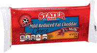 Stater Bros.® Mild Reduced Fat Cheddar Cheese 8 oz. Brick
