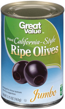 Great Value™ Pitted California-Style Ripe Olives